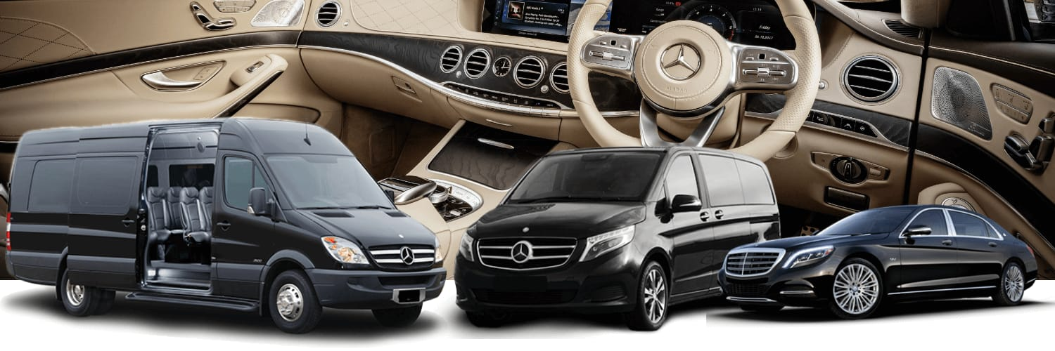 choose one of this cars by mercedes benz and book your zurich chauffeur service